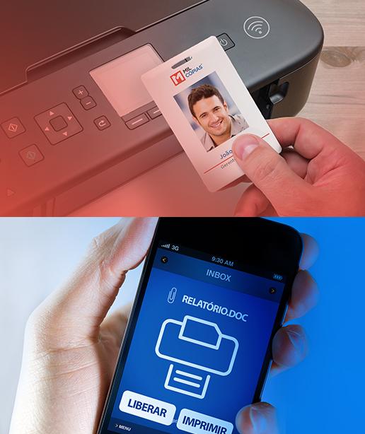 Aluguel e Gerenciamento de Impressões cartão impressora celular relatório solução impressão