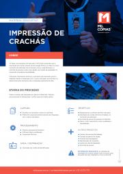 PDF Material Educativo Impressão de crachás
