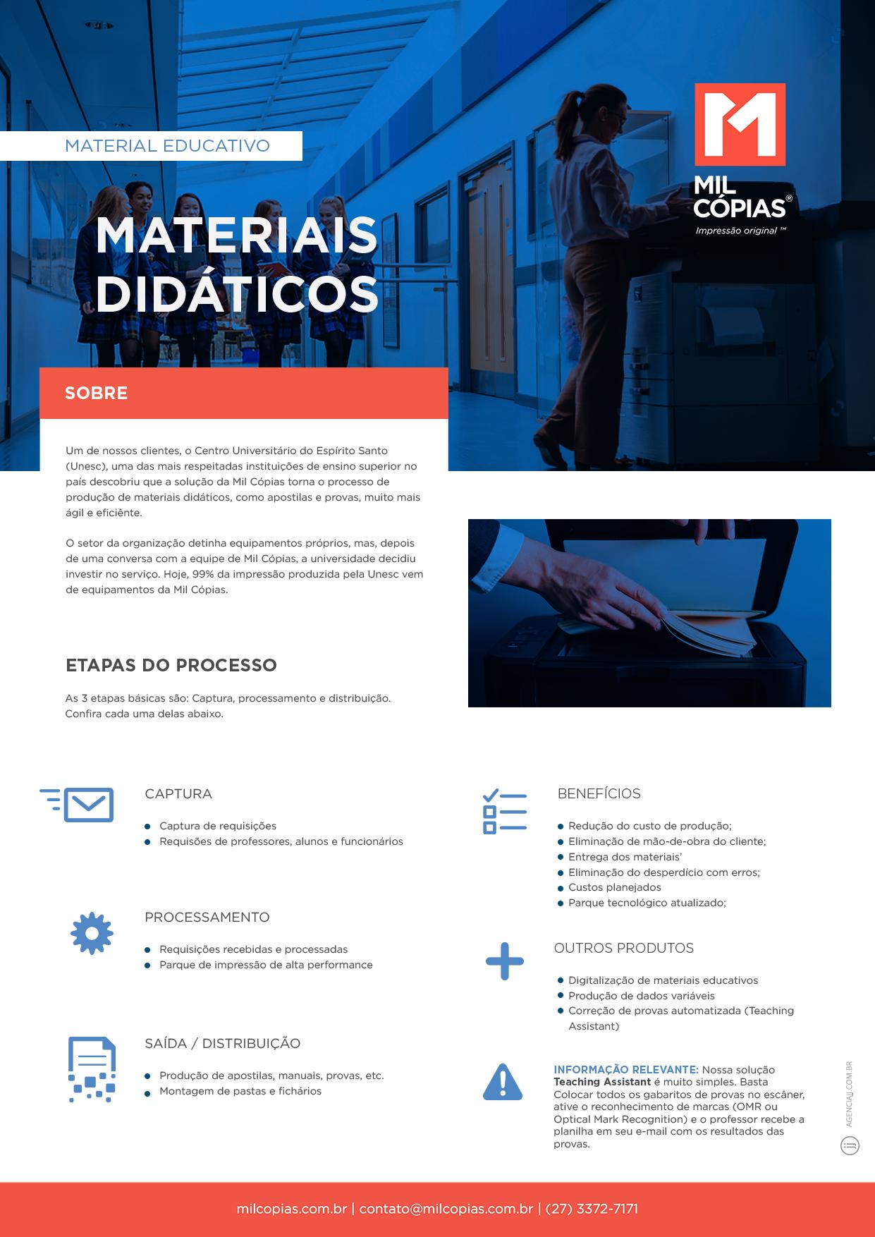 PDF Material Educativo Solução para Impressão de Material Didático