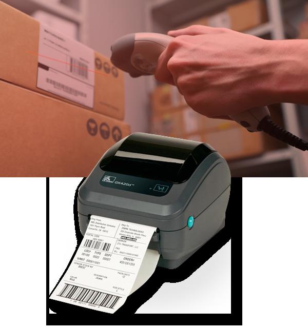 Impressão de Etiquetas código de barras dados variáveis fábrica varejo