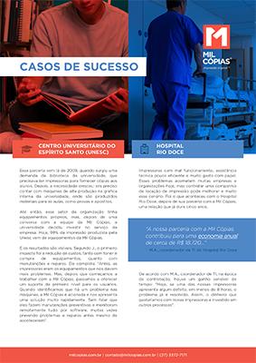 PDF Casos de Sucesso - Impressão em Universidades e Hospitais