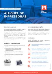 PDF Material Educativo Aluguel de Impressoras
