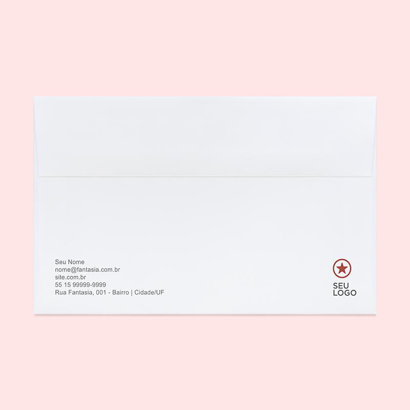 Template para download de Envelope - Gráfica Rápida