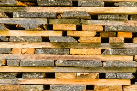 Blocos de madeira